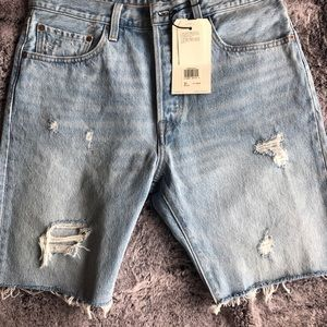 NWT Levis 501 Shorts Size 31